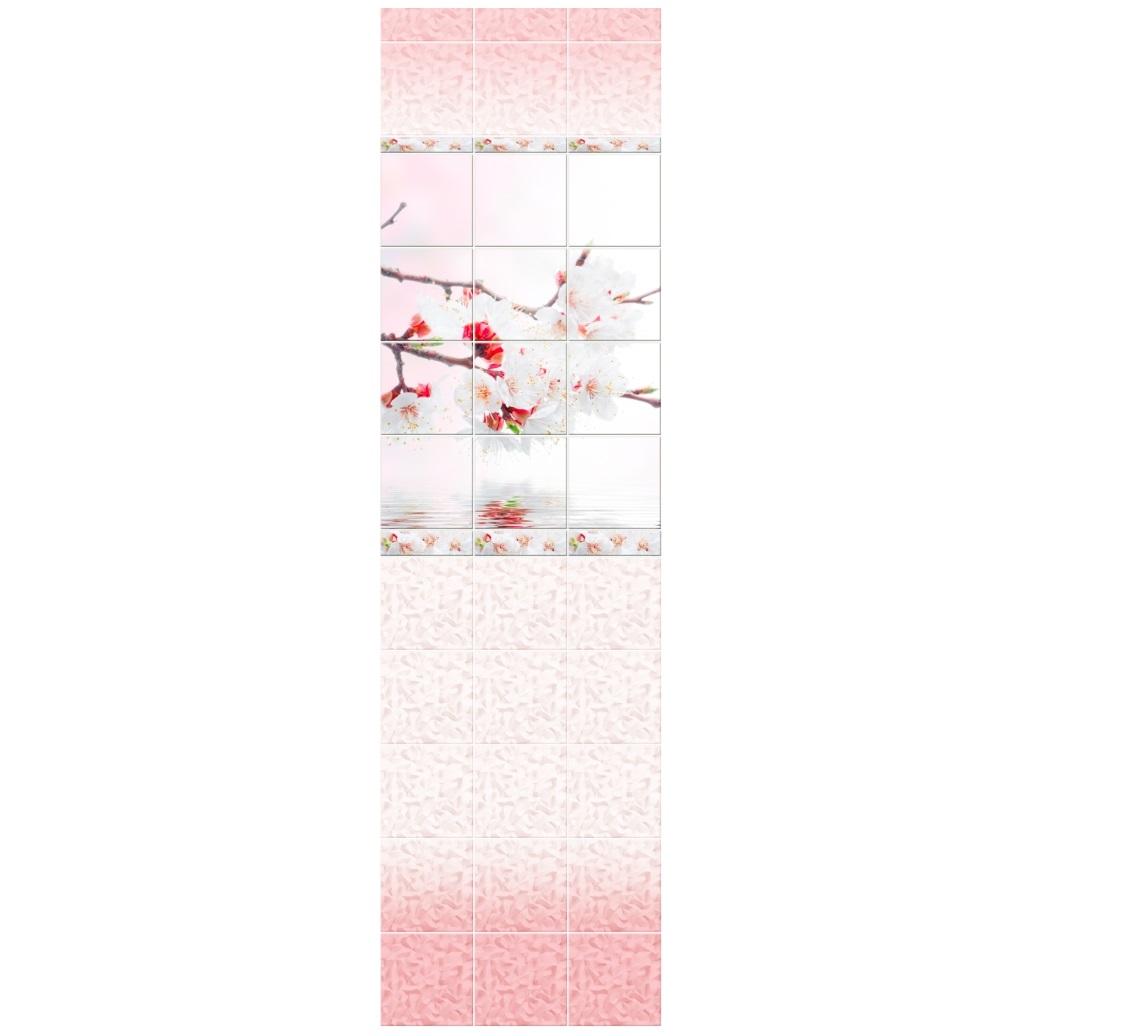 Novita Вишня розовая узор